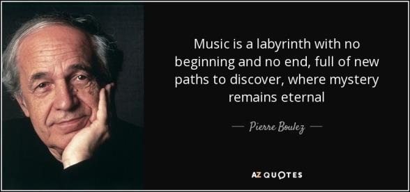 Boulez-sitat