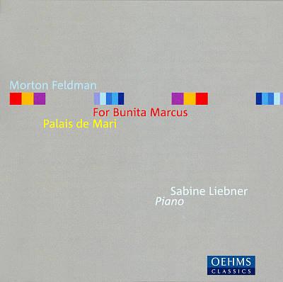 CD Morton Feldman musikk